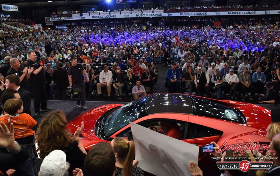 first new acura nsx fetches 1 2 million as supercars bring in millions for charity the globe. Black Bedroom Furniture Sets. Home Design Ideas