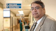 Dr. Anand Kumar, intensive care physician at the Health Sciences Centre in Winnipeg, is the leading researcher on administering earlier doses of antibiotics to cure septic shock. (Thomas Fricke/Thomas Fricke)
