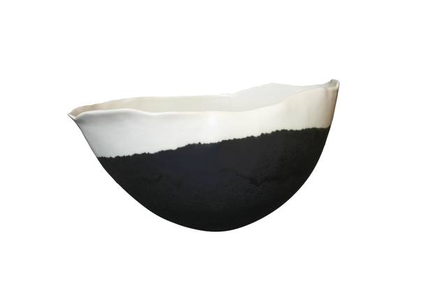 Gravity bowl by Jennifer Graham, $145 through www.jennifersgraham.com.