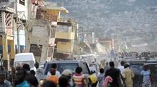 How Haiti's government and international partners handle reconstruction will determine its future. (JUAN BARRETO)