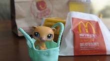 McDonald's Happy Meals come with toys for boys and girls. (Fred Lum/Fred Lum/The Globe and Mail)