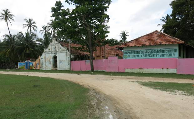 The primary school my dad attended in Atchuvely.