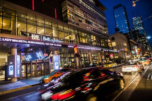The TIFF Bell Lightbox theatre in Toronto is shown on Aug. 29, 2017.