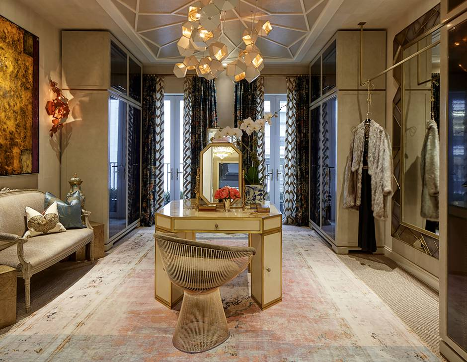 Not just a fantasy Glamorous dressing rooms appearing in homes of