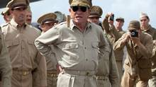 Tommy Lee Jones as General Douglas MacArthur in Emperor. (Kirsty Griffin)