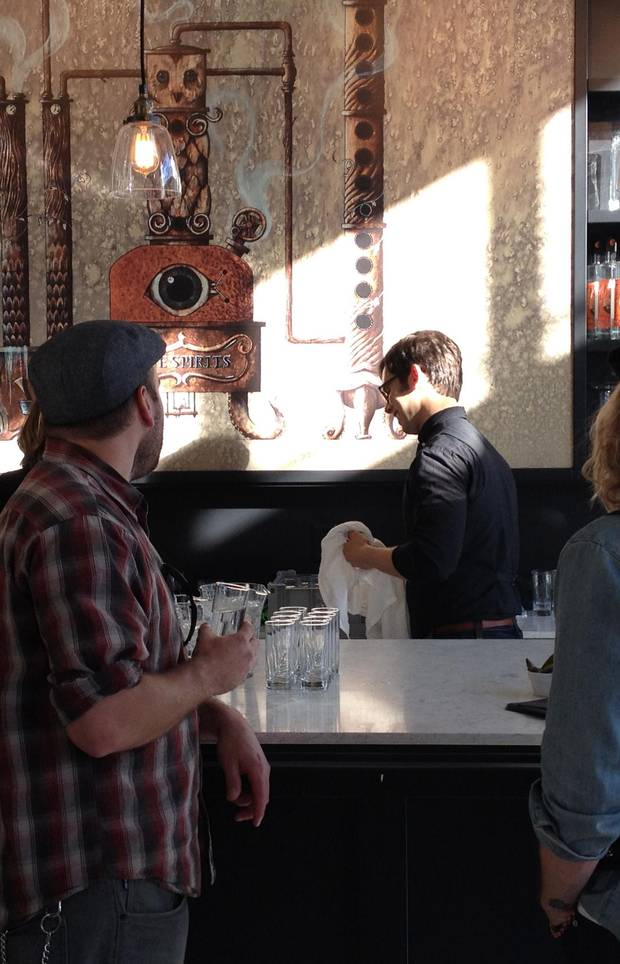 Odd Society Spirits is one of the city's more creative distilleries.