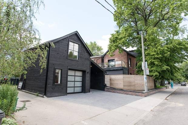 Not including the finished garage, the house sits at 3,500 square feet.