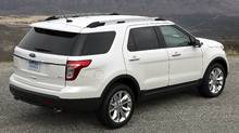 The 2011 Ford Explorer. (Ford Ford)