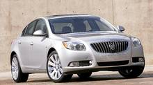 The 2011 Buick Regal features a definite European flair. (General Motors)