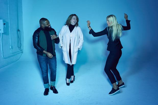 From left, André Isaac Reid, Shira Yoskovitch and Lindsay Jennings of virtual concierge service Handled. In addition to personal styling, Handled also helps with gift buying.