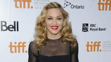 "Director Madonna attends the gala screening for the film ""W.E."" during the Toronto International Film Festival on Monday, Sept. 12, 2011 in Toronto. (Evan Agostini/Evan Agostini/AP)"