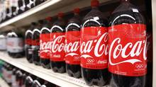 Coca-Cola, like the other companies in the dividend portfolio, has raised its dividend in the past 15 months. (LUCAS JACKSON/REUTERS)