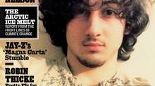 In this magazine cover image released by Wenner Media, Boston Marathon bombing suspect Dzhokhar Tsarnaev appears on the cover of the Aug. 1, 2013 issue of Rolling Stone.