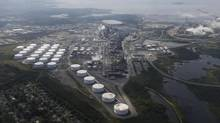 Irving Oil's refinery near Saint John is shown on Aug. 27, 2013. (CHRISTINNE MUSCHI FOR THE GLOBE AND MAIL)