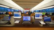 The interior of a Microsoft retail store is shown in San Diego, Jan. 18, 2012. (Mike Blake/Reuters/Mike Blake/Reuters)