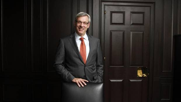 Dave McKay will become CEO at RBC in August, 2014. (Fernando Morales/The Globe and Mail)