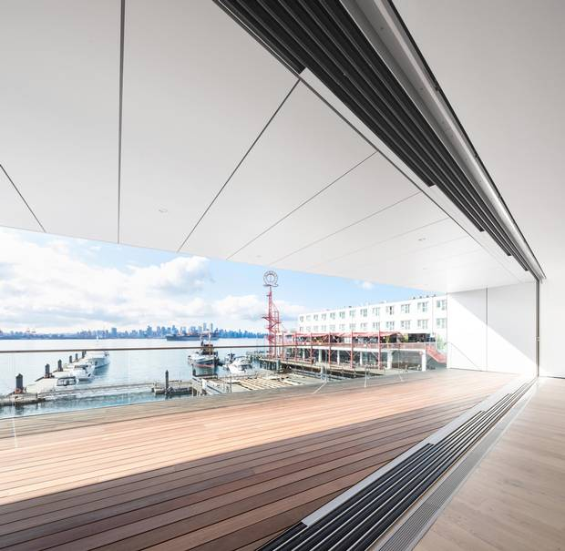 Visitors at the new Polygon Gallery will be treated to jaw-dropping views of the Vancouver skyline to the south.