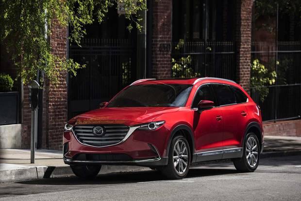 2017 Mazda CX-9.
