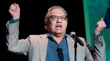 In this image released by South Beach Comedy Festival Presented by Joe Boxer, comedian Lewis Black performs March 1, 2012 in Miami Beach, Fla. (Mitchell Zachs/The Associated Press)