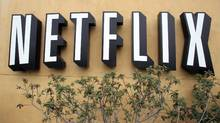 Netflix shares fell 19 per cent Thursday as it lowered its U.S. subscriber forecast. (Paul Sakuma/AP/Paul Sakuma/AP)