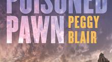 Detail from the cover of The Poisoned Pawn