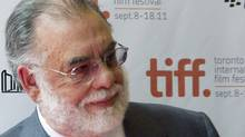Francis Ford Coppola attends the gala screening of the film 'Twixt' at the Toronto International Film Festival in Toronto on Sunday September 11, 2011. (Chris Young/Chris Young/The Canadian Press)