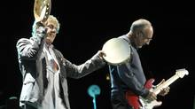 The Who perform at the Air Canada Centre in Toronto, November 23, 2012. (J.P. MOCZULSKI/J.P. MOCZULSKI)