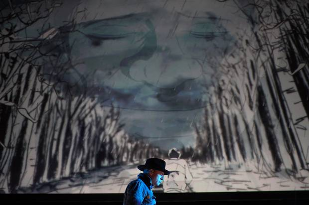 Gord Downie performs his album Secret Path at Ottawa's National Arts Centre.
