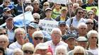 Nortel pensioners rallied at Queen?s Park last September to protest the handling of their pension funds after the company filed for bankruptcy protection.