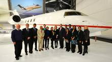 Bombardier was among the companies visited by Adrian Papara and his fellow Telfer MBA students during their Canada Industrial Trip course. (Michael Miles)
