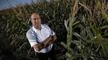 Former Agricore United CEO Brian Hayward recently became chairman of Farmers Edge Laboratories, a Winnipeg company that deploys scientific tools to map fields, and areas within fields, for their crop-growing capability. (JOHN WOODS For The Globe and Mail)