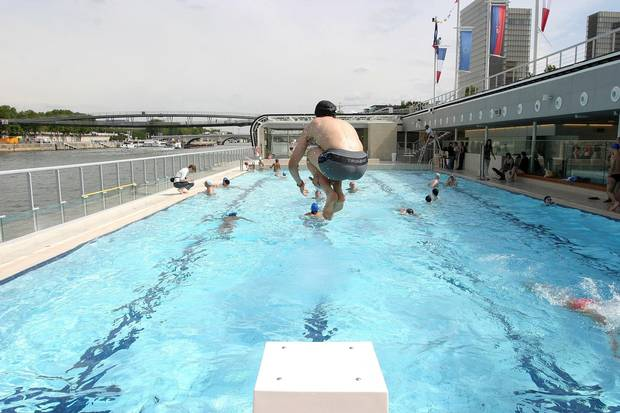 Community Pools Offer Travellers A Slice Of Life In Unfamiliar Locales The Globe And Mail