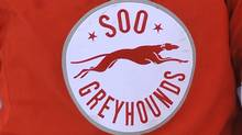 The logo of the Sault Ste. Marie Greyhounds is seen in this file photo. (OHLimages.ca/OHLimages.ca)