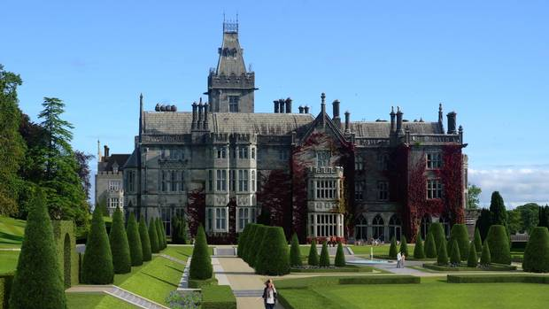 Adare Manor in Ireland's County Limerick.