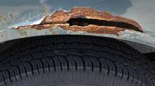 Corrosion, oxidation and rust all mean the same thing — water, salt and pollutants are dissolving your vehicle. (Fred Lum/Fred Lum/The Globe and Mail)