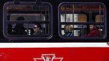 "Mayor Rob Ford came out fighting in the face of defeat. ""Obviously the campaign starts now and I'm willing to take anyone on, streetcars against subways in the next election. I can't wait for that,"" he told reporters. (Deborah Baic/The Globe and Mail/Deborah Baic/The Globe and Mail)"
