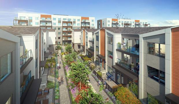 Thirty percent of the units at FirstHome Markham Sheppard will be affordable housing.