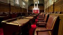 The Senate knowingly approved a crime bill with an error that could weaken the legislation and invite challenges by defence lawyers. (Adrian Wyld/THE CANADIAN PRESS)