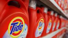 Procter & Gamble rose 3.8 per cent after a report suggested that activist hedge fund manager Bill Ackman had taken a position in the giant consumer products company. (JOHN GRESS/REUTERS)