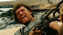"Screen grab from the online trailer for the film ""Wrath of the Titans,"" starring Sam Worthington, Liam Neeson, Ralph Fiennes and Rosamund Pike"
