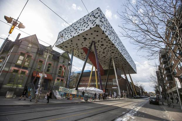 The new OCAD project will neighbour famous, bold architecture pieces the Sharp Centre, pictured, and the Art Gallery of Ontario.
