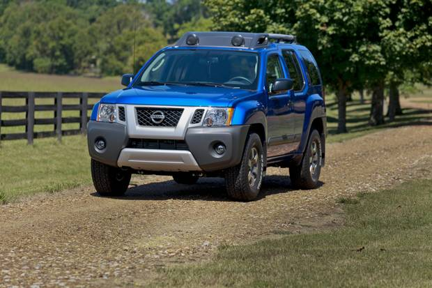 The discontinued Nissan Xterra.