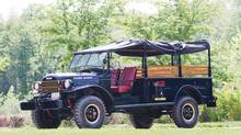 The 1956 M601 Dodge Power Wagon were configured to meet military needs. (Auctions America)