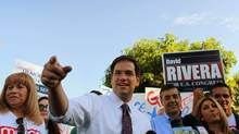 Marco Rubio, the Tea Party-backed front-runner in Florida's Senate election. (Joe Raedle/Getty Images/Joe Raedle/Getty Images)