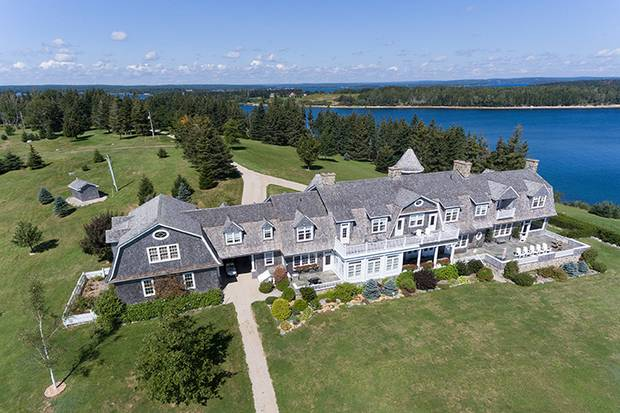 Just southwest of Halifax is Kaulbach Island, a 57-acre property with 11 bedrooms, two sandy beaches and a beach cottage. The cost is $7-million.