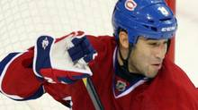 Montreal Canadiens centre Scott Gomez. THE CANADIAN PRESS/Ryan Remiorz (Ryan Remiorz/CANADIAN PRESS)