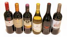 Wines for under 10 dollars. (Moe Doiron / The Globe and Mail/Moe Doiron / The Globe and Mail)