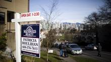 Prices for single-family detached homes in Greater Vancouver have climbed to a record high. (Rafal Gerszak For The Globe and Mail)