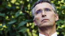 Norway's Prime minister Jens Stoltenberg is pictured during a press conference at his residence on July 27, 2011. (Jonathan Nackstrand/AFP/Getty Images/Jonathan Nackstrand/AFP/Getty Images)