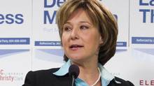 Christy Clark in Port Moody, B.C. March 22, 2012. (John Lehmann/The Globe and Mail/John Lehmann/The Globe and Mail)